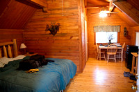 Inside my cabin, #11 at Lost Horse Creek Lodge